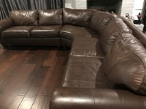 Bernhart Leather Sectional in Houston, Texas