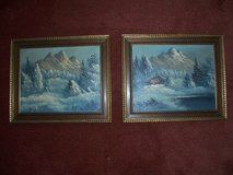 Two Authentic Paintings in Ramstein, Germany