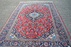 Beautiful High quality Persian oriental carpet hand knotted Rug 114 x 78 Inches in Wiesbaden, GE