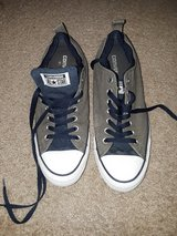 Grey and Blue CONVERSE All STAR Shoes Size 10-1/2 in Camp Pendleton, California