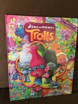 Trolls children book in Okinawa, Japan