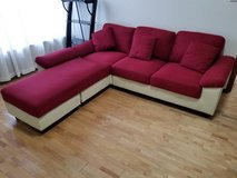 Small sectional couch in Okinawa, Japan