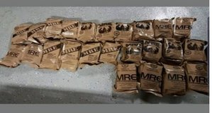 MRE individual new in Fort Benning, Georgia