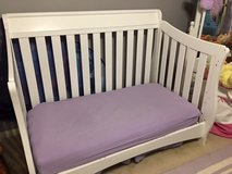 Delta 4 in 1 White Convertible Crib, Toddler and Twin Bed in Conroe, Texas