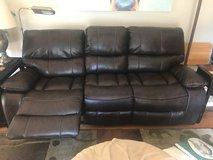 Brand Couch and Matching Recliner in Glendale Heights, Illinois