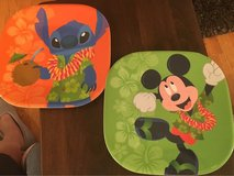 Stitch & Mickey Plates in Chicago, Illinois