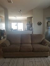 Bassett Couch and Ottoman in Kingwood, Texas