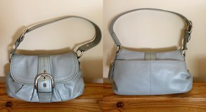 Coach Soho Gray Leather Shoulder Bag in Naperville, Illinois