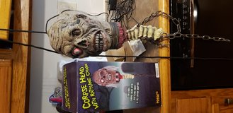 Corpse head with rattling chain in Kingwood, Texas