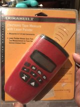 Electronic tape measure w/ laser pointer in Aurora, Illinois