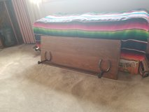 Rustic towel rack in Alamogordo, New Mexico