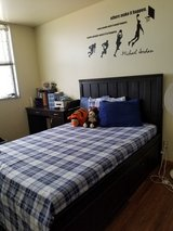 Full Size Bed w/ Mattress in Eglin AFB, Florida