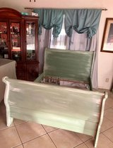 Sleigh bed in full size in Lackland AFB, Texas