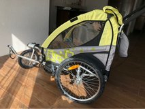 childs bike trailer for 2 kids in Stuttgart, GE