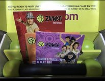 Zumba Fitness Exhilarate Body Shaping System DVD in Quantico, Virginia