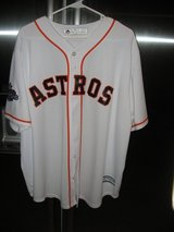 George Springer 2017 World Series Championship Jersey in Kingwood, Texas