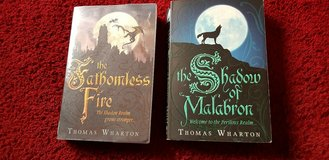 Perilous Realm Bk1 and 2 Shadow Of Malabron and fathomless fire Thomas Wharton in Lakenheath, UK