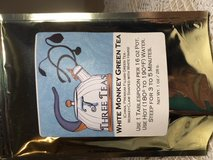 New White Monkey Green Tea Foil Resealable Pouch Could Not Resist the Name in Kingwood, Texas