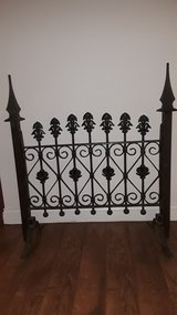 Repurposed Wrought Iron Gate in Westmont, Illinois