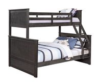 Charcoal Twin over Full Bunkbed (M) $500 / $50 Down in Kingwood, Texas