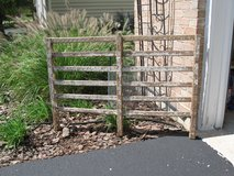 Rustic Wood Fence/Barn Gate in Naperville, Illinois