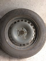 4 winter tires on rims 215/60 R16 99H in Ramstein, Germany