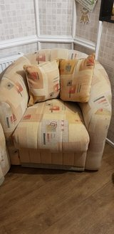 two lovely single armchairs in Lakenheath, UK