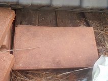 Brickface Red Concrete Patio Stone in Camp Lejeune, North Carolina