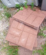 Brickface Red Concrete Patio Stone (Large) in Camp Lejeune, North Carolina