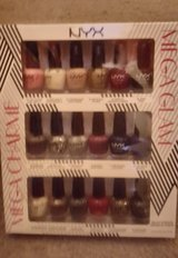 NYX Girls Nail Polish Set Mini Bottles Rare Colors/Shades in Camp Lejeune, North Carolina