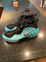 Nike Foamposite Pro - Island Green Metallic Platinum Sz 15 Men's Basketball Shoes in Cincinnati, Ohio
