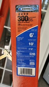 300lb Capacity Ladder-NEW! in Clarksville, Tennessee