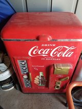 plastic Coca Cola ice chest cooler in Alamogordo, New Mexico