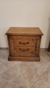 Rustic end table or night stand in Alamogordo, New Mexico