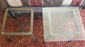 Two end tables in Camp Pendleton, California