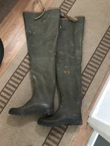 Aigle Wader boots in Lakenheath, UK