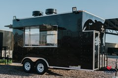 NEW Concession Food Trailer 8x14 in Lackland AFB, Texas