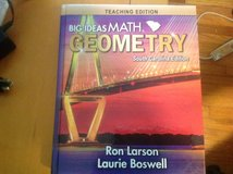 Brand New 2020 Teacher Edition SC Geometry Book, by Ron Larson in Beaufort, South Carolina