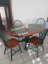 Kitchen table and chairs in Ramstein, Germany