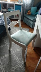 White desk chair in Chicago, Illinois