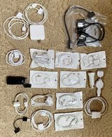 Assorted cables for older iPhone, iPad and iPod in Naperville, Illinois
