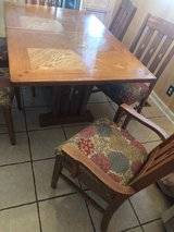 Ashley Table w/ extension and 6 chairs in Fort Campbell, Kentucky