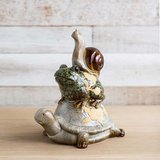 NIB Ceramic Turtle with Frog and Snail Yard Decor. in Camp Lejeune, North Carolina