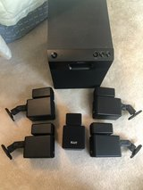 Surround Sound -Sony Subwoofer, KLH speakers in Bolingbrook, Illinois