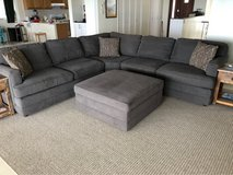 Large Bassett Sectional Couch in Okinawa, Japan