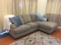 Tan sectional couch in Okinawa, Japan