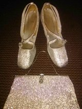 Silver Clutch & High Heels in Fort Hood, Texas
