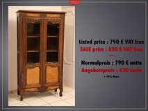 Freddy's - Louis XV curio cabinet in Spangdahlem, Germany