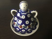 Polish Pottery Cheese Tray in Wiesbaden, GE