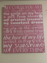 little girls wall hanging in Plainfield, Illinois